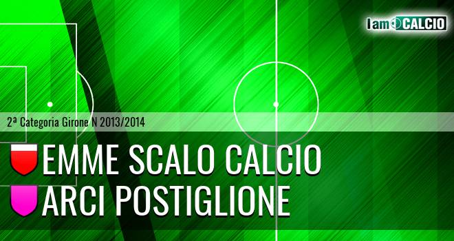 Emme Scalo Calcio - Arci Postiglione