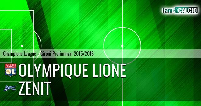 Olympique Lione - Zenit