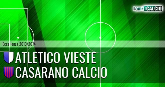 Atletico Vieste - Casarano Calcio