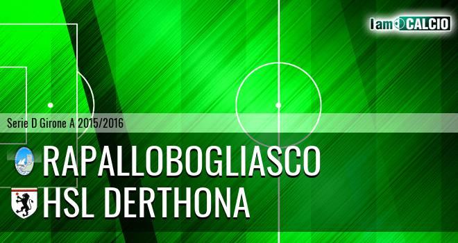 RapalloBogliasco - HSL Derthona