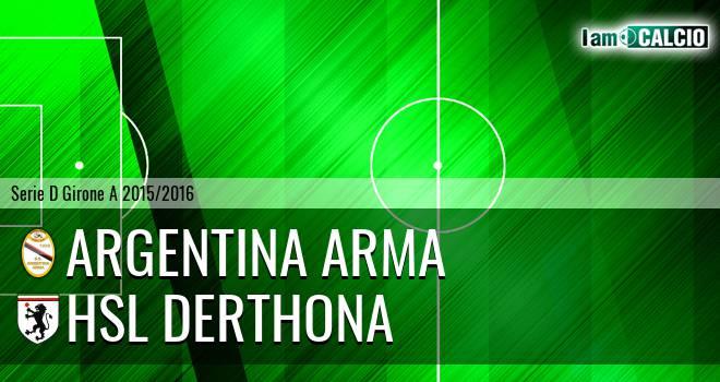 Argentina Arma - HSL Derthona