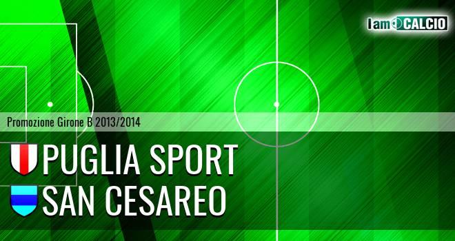 Puglia Sport - San Cesareo