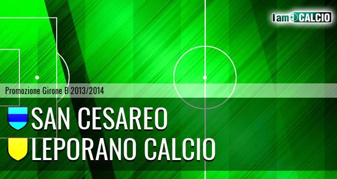 San Cesareo - Leporano Calcio