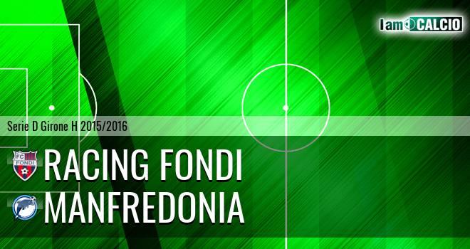 Racing Fondi - Manfredonia Calcio 1932