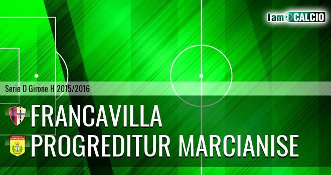 Francavilla - Progreditur Marcianise