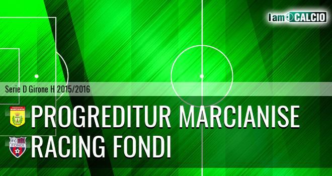 Progreditur Marcianise - Racing Fondi