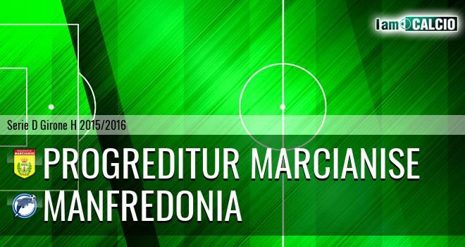 Progreditur Marcianise - Manfredonia Calcio 1932