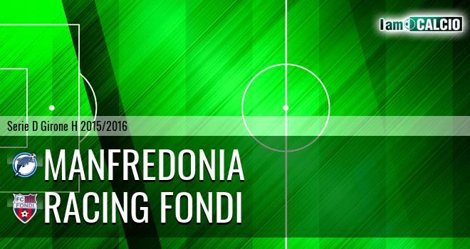 Manfredonia Calcio 1932 - Racing Fondi