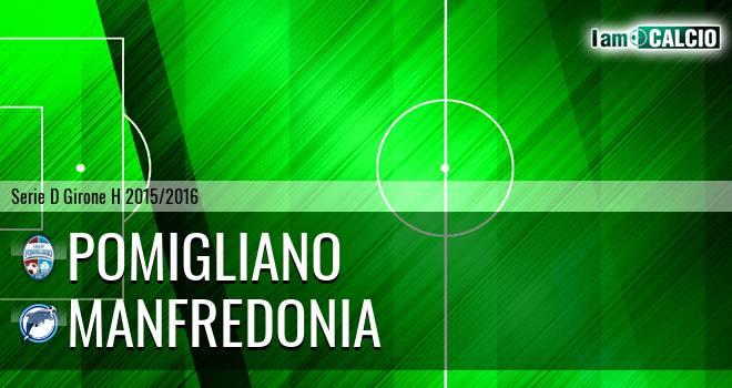 Pomigliano - Manfredonia Calcio 1932
