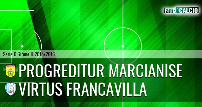 Progreditur Marcianise - Virtus Francavilla