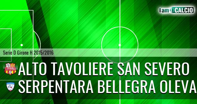 San Severo Calcio - Serpentara Bellegra Olevano