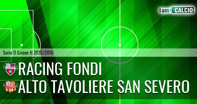 Racing Fondi - San Severo Calcio