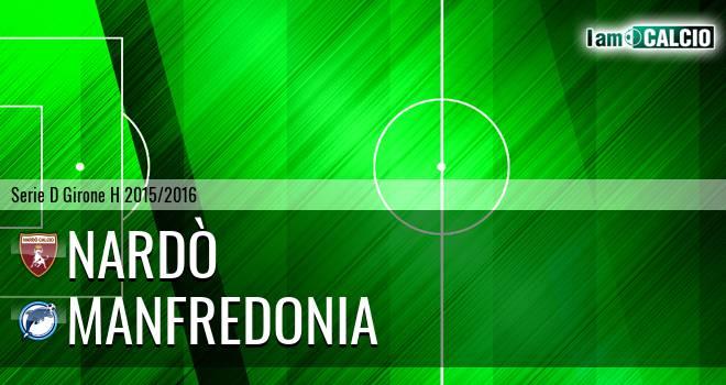 Nardò - Manfredonia Calcio 1932