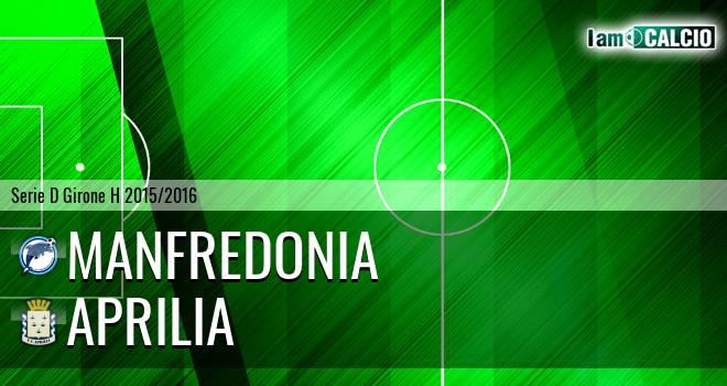 Manfredonia Calcio 1932 - Aprilia