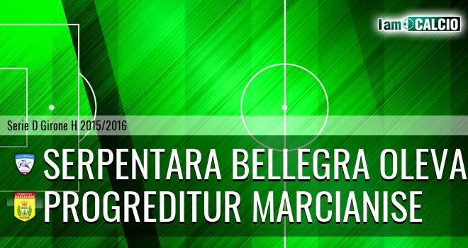 Serpentara Bellegra Olevano - Progreditur Marcianise