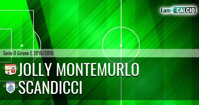 Jolly Montemurlo - Scandicci