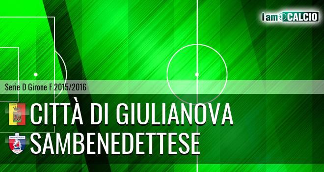 Città di Giulianova - Sambenedettese
