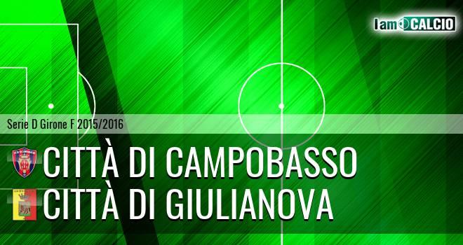 Città di Campobasso - Città di Giulianova