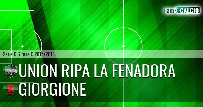 Union Ripa La Fenadora - Giorgione