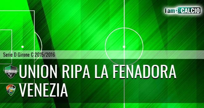 Union Ripa La Fenadora - Venezia