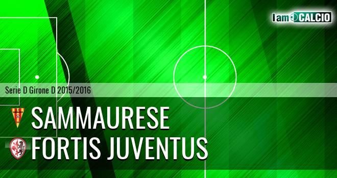 Sammaurese - Fortis Juventus