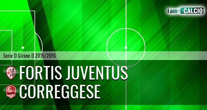 Fortis Juventus - Correggese