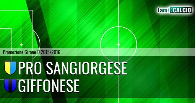 Pro Sangiorgese - Giffonese