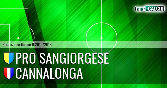 Pro Sangiorgese - Cannalonga