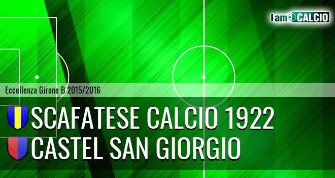 Scafatese Calcio 1922 - Castel San Giorgio
