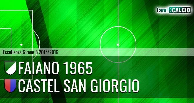 Faiano 1965 - Castel San Giorgio
