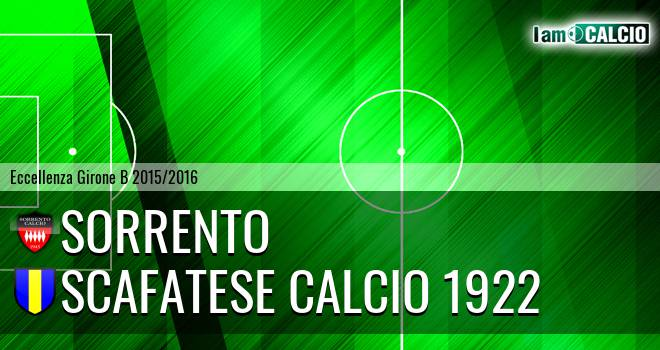 Sorrento - Scafatese Calcio 1922