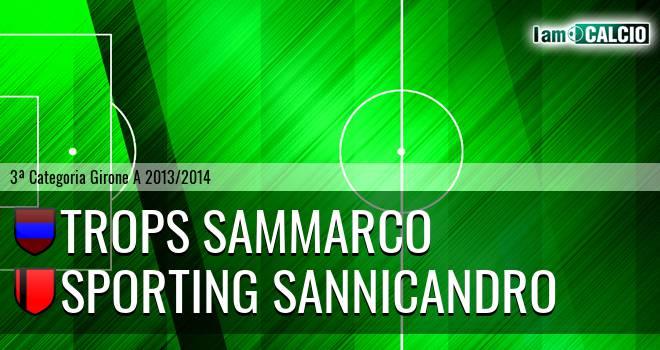 Trops Sammarco - Sporting Sannicandro