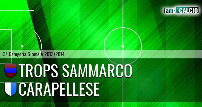 Trops Sammarco - Carapellese