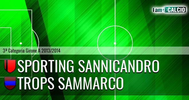 Sporting Sannicandro - Trops Sammarco