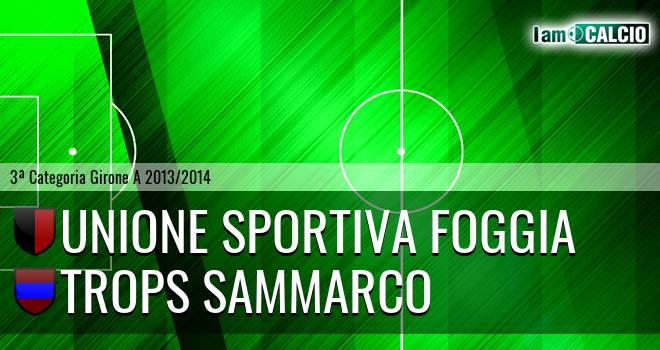 Unione Sportiva Foggia - Trops Sammarco