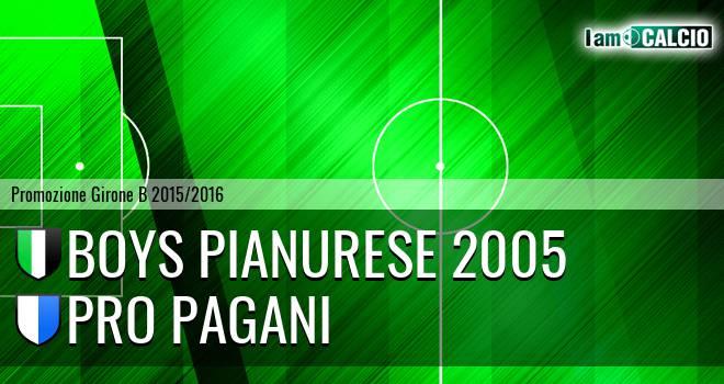 Boys Pianurese 2005 - Atletico Pagani