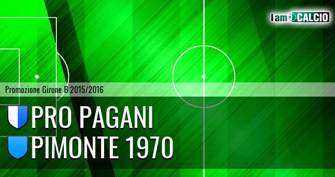 Atletico Pagani - Pimonte 1970