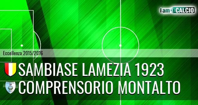Sambiase Lamezia 1923 - Comprensorio Montalto