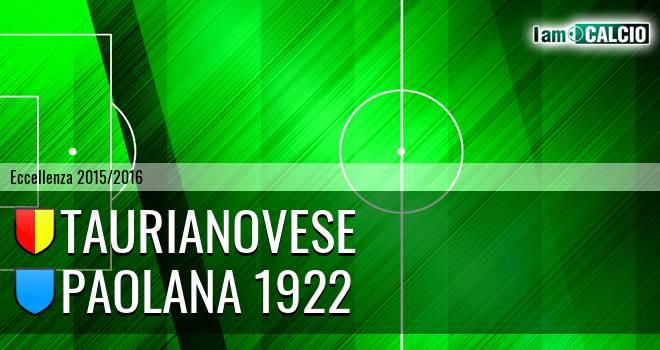 Asisport Taurianovese - Paolana 1922
