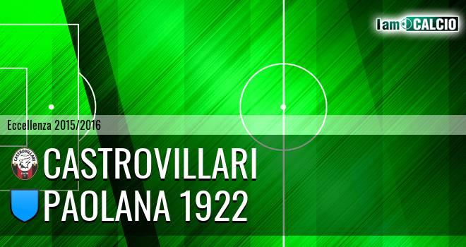 Castrovillari - Paolana 1922