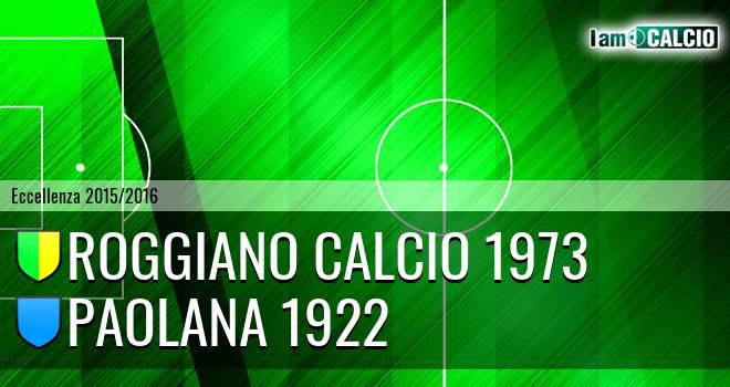Roggiano Calcio 1973 - Paolana 1922
