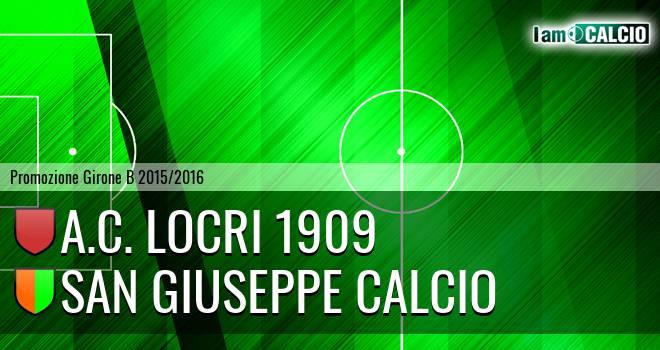 Locri - San Giuseppe Calcio