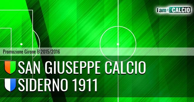 San Giuseppe Calcio - Jonica Siderno