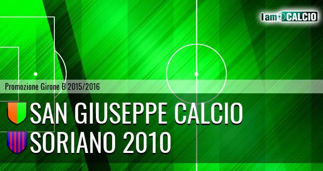 San Giuseppe Calcio - Soriano 2010