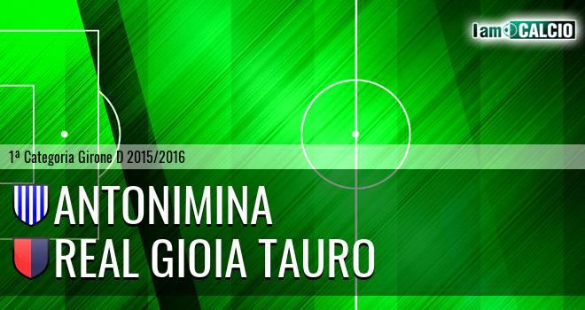 Antonimina - Real Gioia Tauro