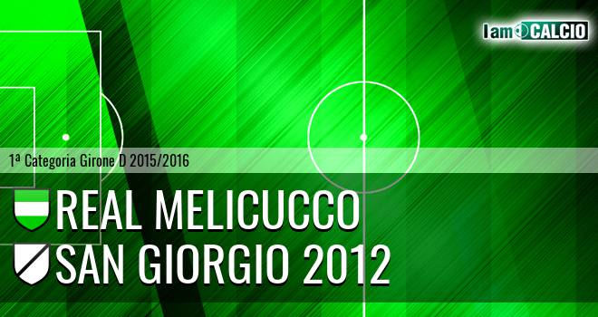 Melicucco Calcio - San Giorgio 2012