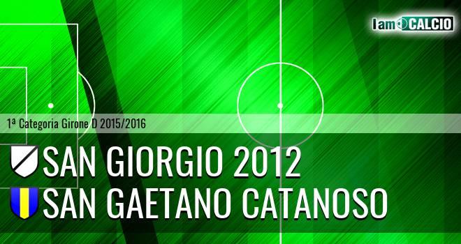 San Giorgio 2012 - San Gaetano Catanoso