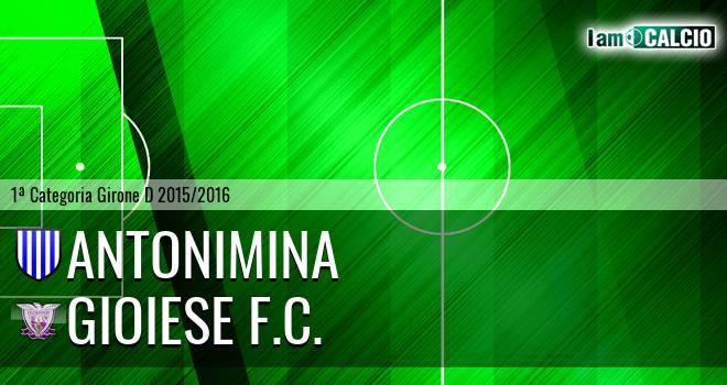 Antonimina - Gioiese F.C.