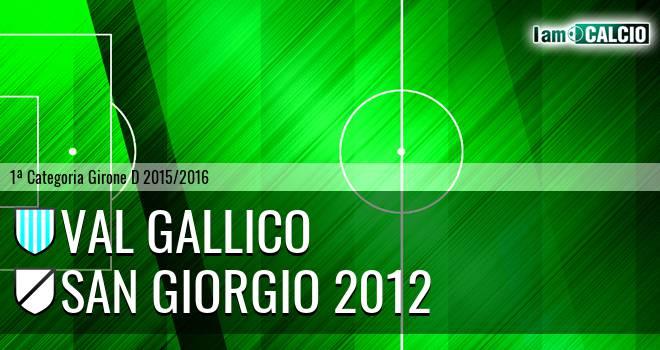 Val Gallico - San Giorgio 2012