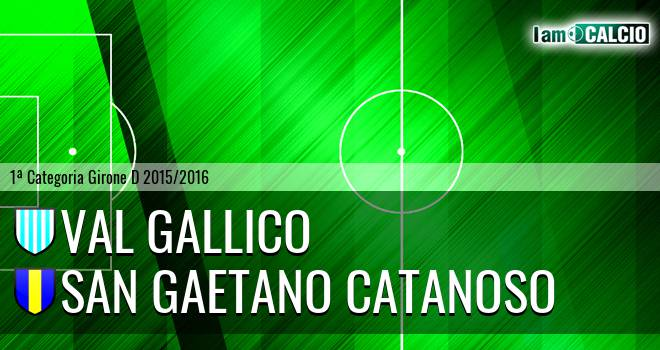 Val Gallico - San Gaetano Catanoso